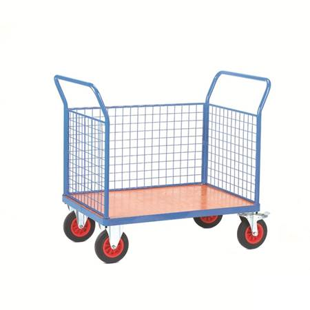Picture for category Fort® Plywood Platform Trucks with Mesh