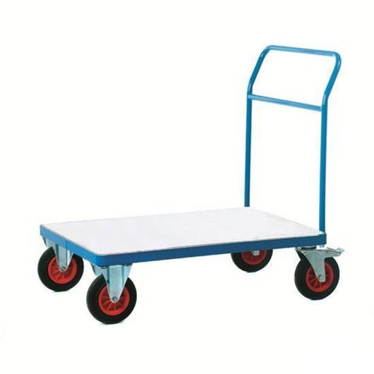 Picture of Fort Galvanised Platform Trucks with Single Bar End