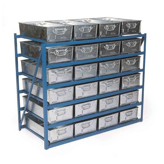 Picture of Standard Tote Pan Racks - Tilted Or Horizontal