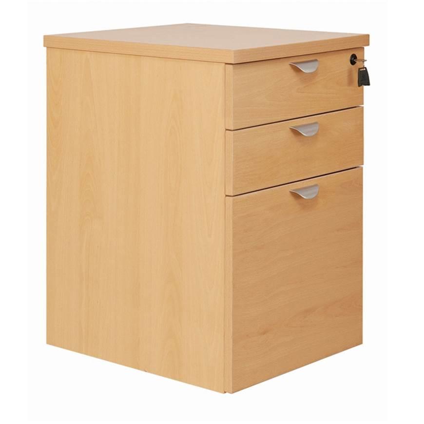 Picture of Fraction Desk High Pedestal
