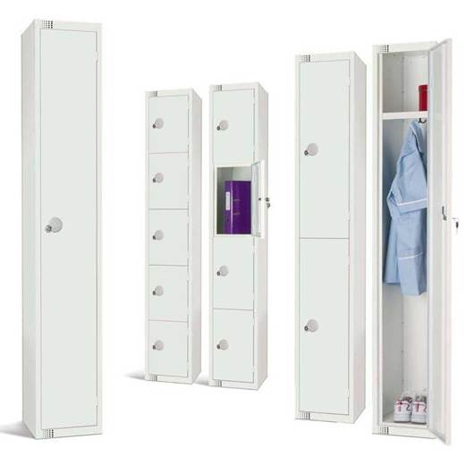 Picture of Elite White Lockers