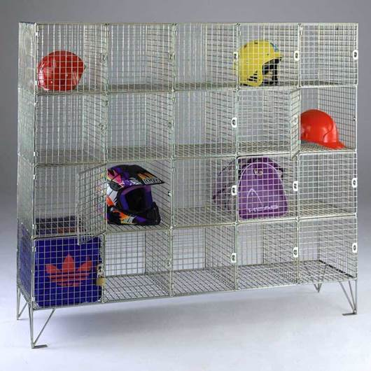 Picture of Wire Mesh Compartment Lockers with Doors
